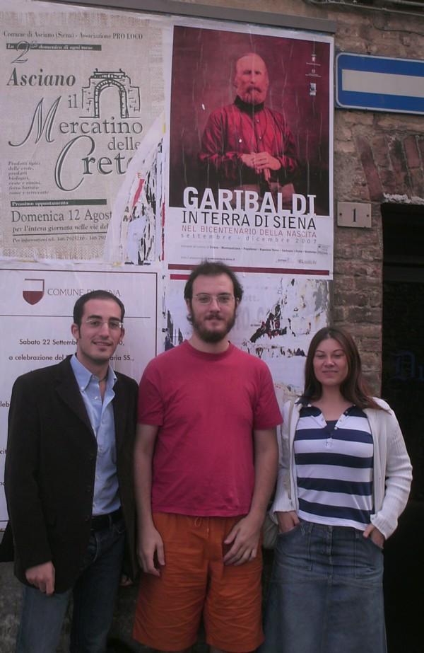 Garibaldini a Siena